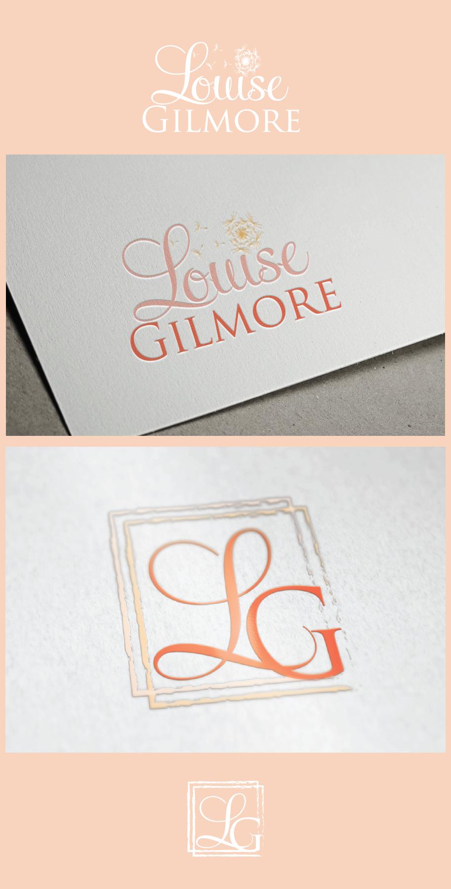 Create a beautiful, feminine logo for new author