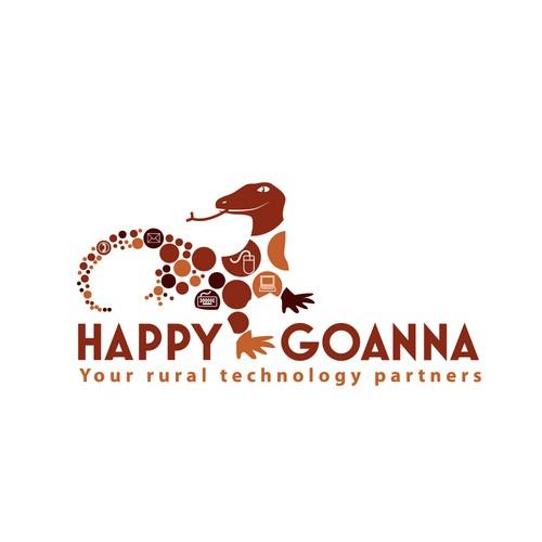 happy goanna