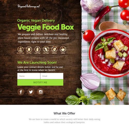 Veggie food box