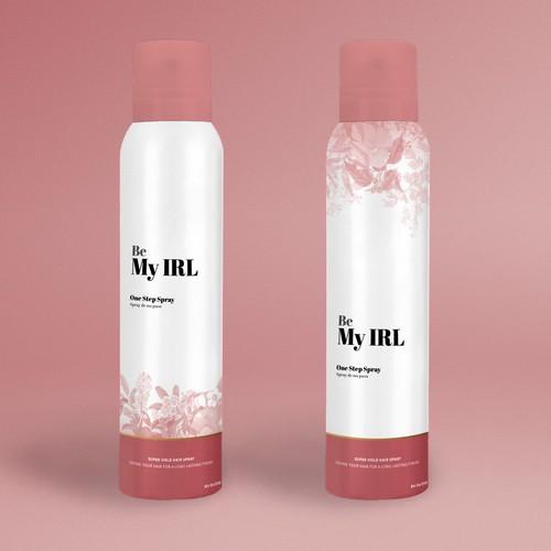 Label draft for hair spray
