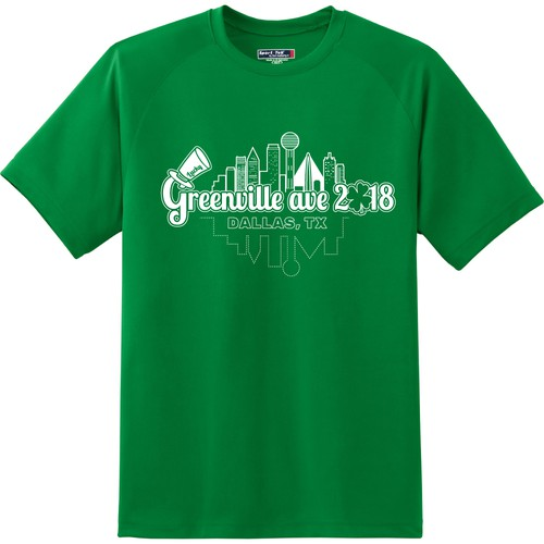 Design a fun St Patty's Day Front of T-shirt Logo