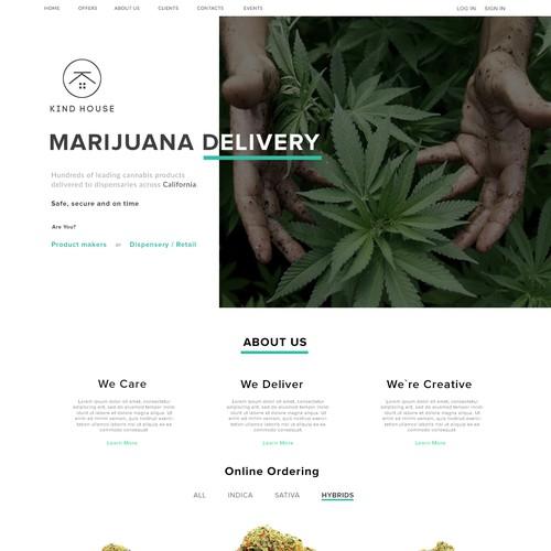 KindHouse Landing Page