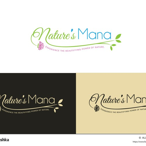 Logo proposal for cosmetics company