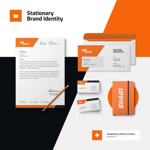 Professional Simple Corporate Stationary