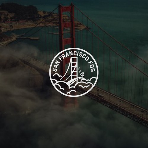 A unique logo of San Francisco Fog