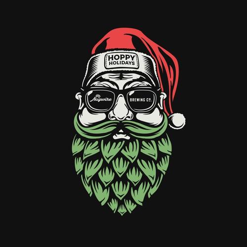 Haywire Hoppy Holidays T-shirt