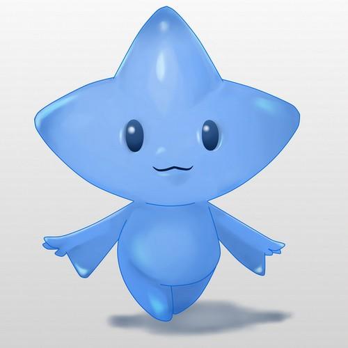 Blue Star Mascot