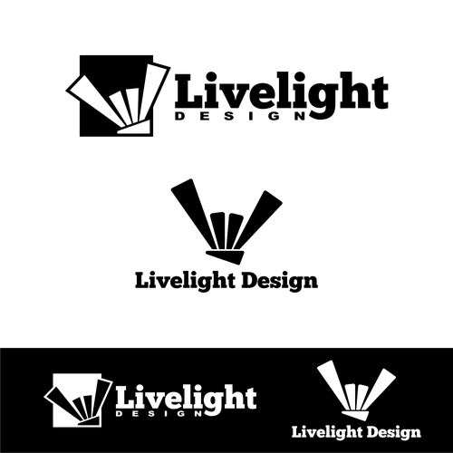 Concert lighting design logo