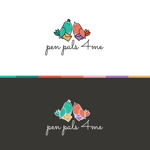 Logo proposal for children postal service