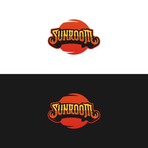 SunRoom Logo Design
