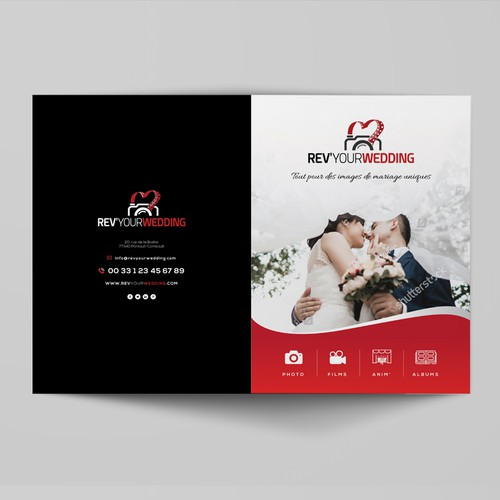 REV'YOUR WEDDING - Photo | Film | Anim' | Album - Create a BROCHURE Services and Products.