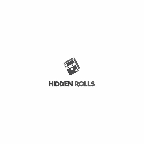 logo concept for hidden rolls