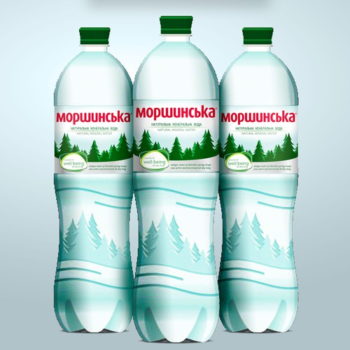 Lifestyle Label Design for mineral water