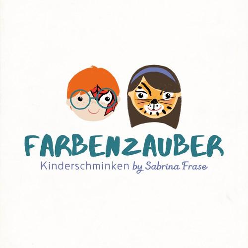 Logo für eine Face Painting Künstlerin