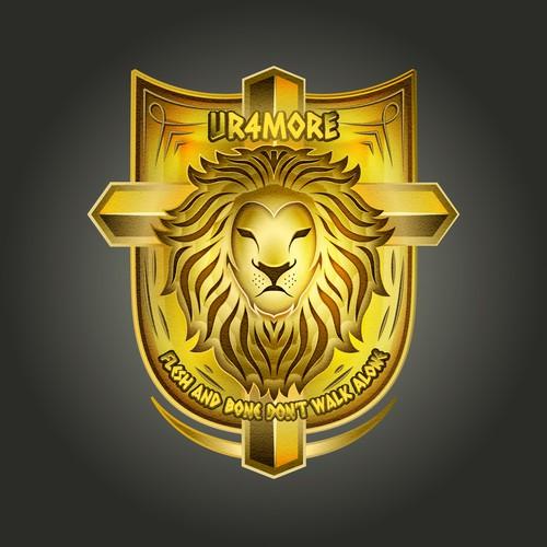UR4MORE seal/ emblem design