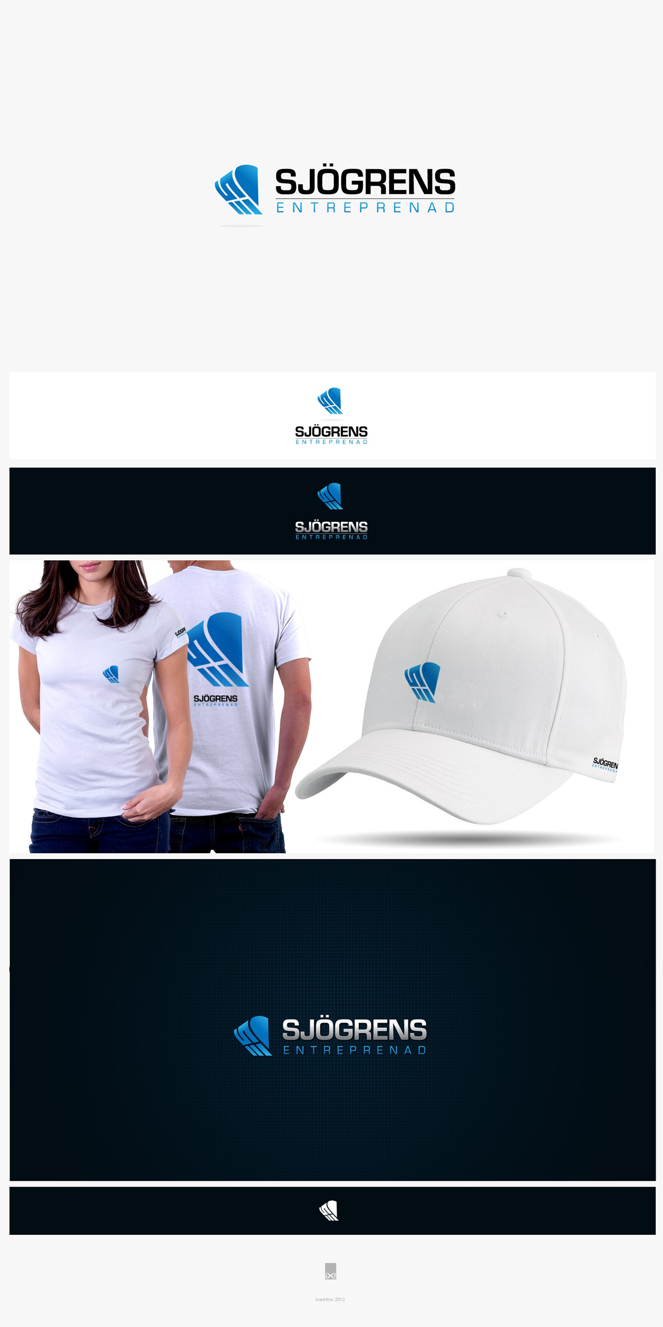 Create the next logo for Sjögrens Entreprenad