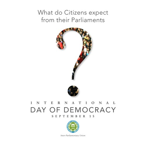 Poster for International Day of Democracy 2011