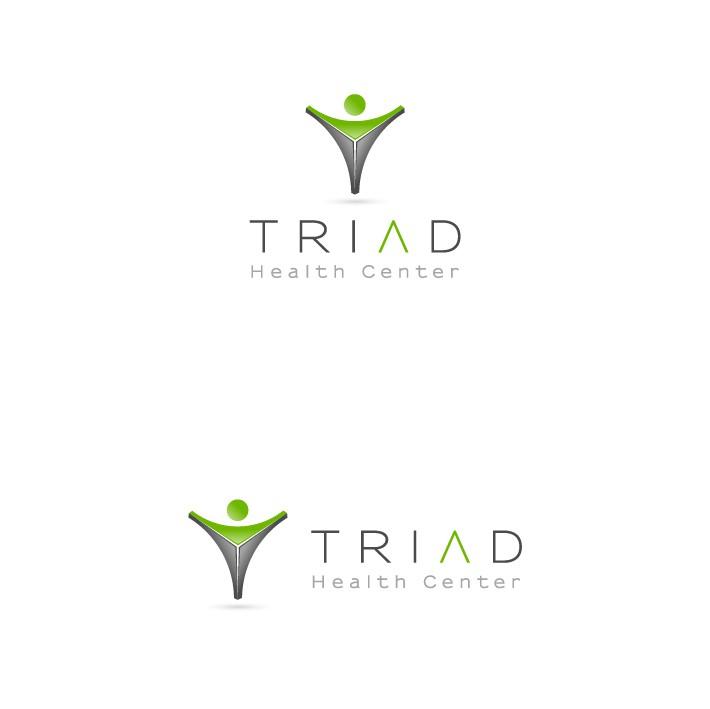 Create the next logo for Triad Health Center