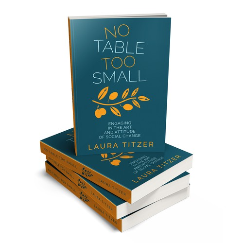 "Book cover for ""No Table Too Small"""