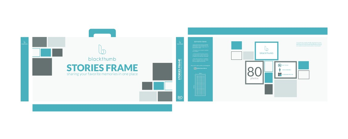 Design a box for a beautifully crafted,  frame that holds pictures on your wall!