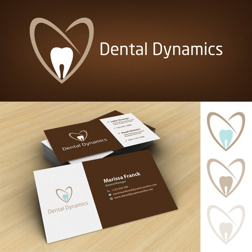 Dental Dynamics Logo & Business Card
