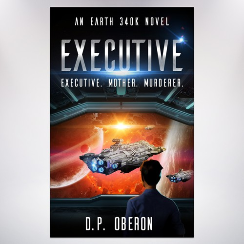 D.P. OBERON Executive Book Cover Concept