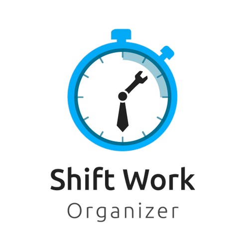 Logo concept For shift work organizer app