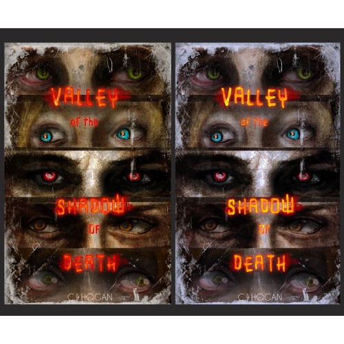 """Design a captivating ebook cover for a horror novel titled: """"Valley of the Shadow of Death""""."""