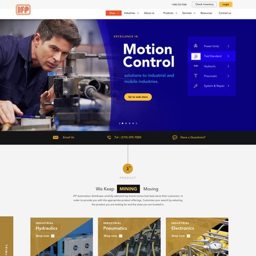 IFP motion control