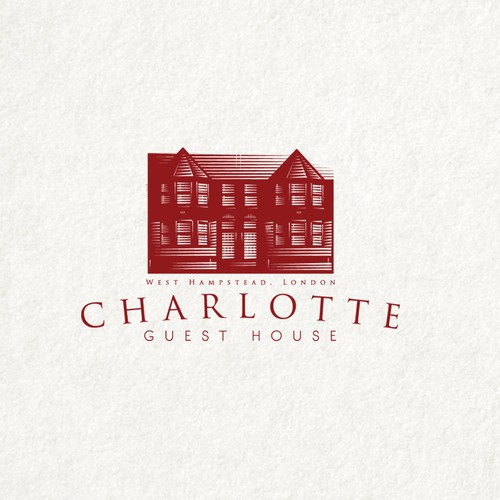 Create the next logo for Charlotte Guest House