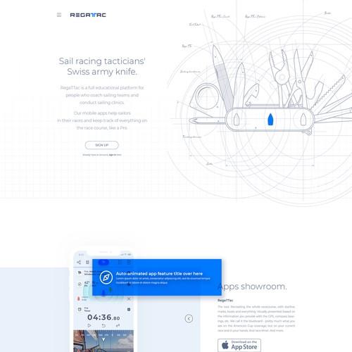 RegaTTac Website Design