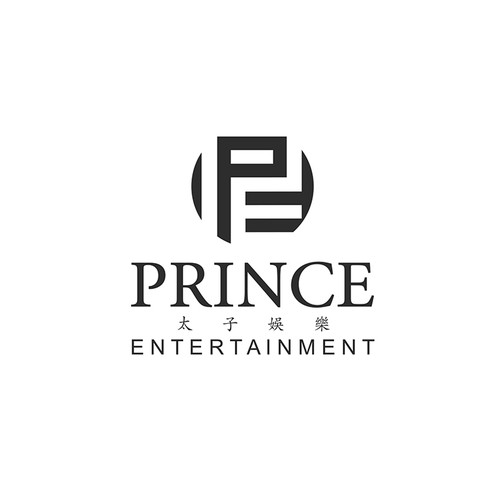 Logo design for media company, Prince Entertainment