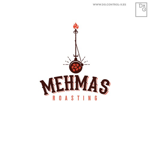 Logo for Mehmas Coffee house