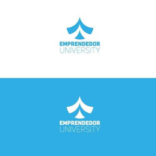 Logo concept for an online university
