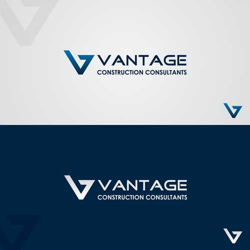 Create an awesome logo for a new Consulting Firm: Vantage Construction Consultants