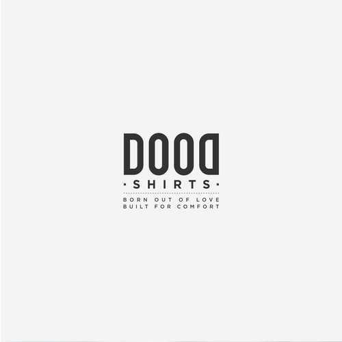 Logo and Website for Dood Shirts