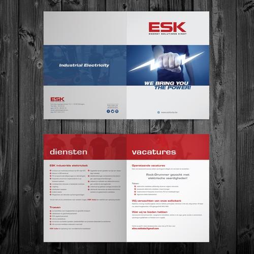 Mooie folder voor ESK