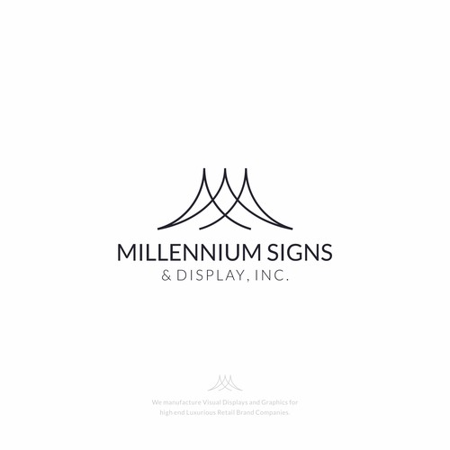 MILLENIUM SIGNS & DISPLAY, INC. Logo Design