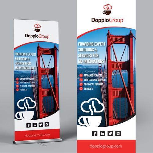 Roll-up banner design concept