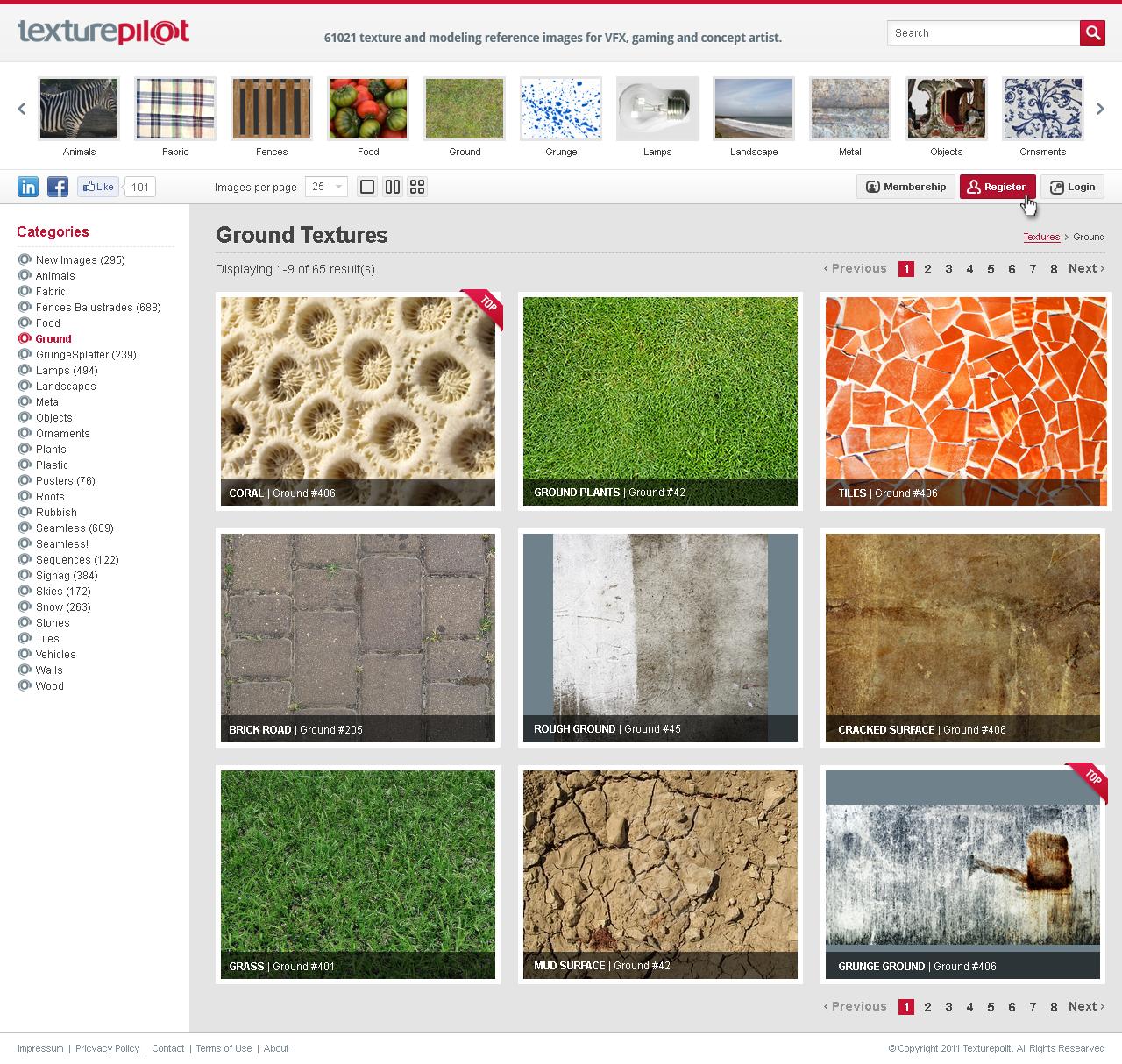 Texturepilot needs a new website design