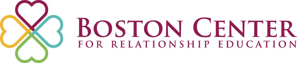 Create a standout design for the Boston Center for Relationship Education.