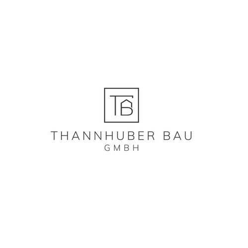 Quadratisches Logo für eine Bauträger Firma