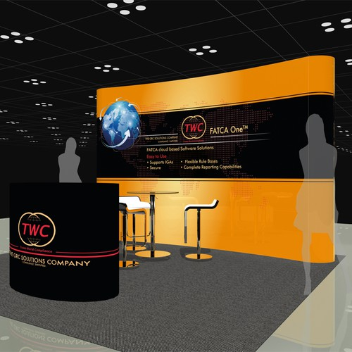 Brochure and Trade Show Booth