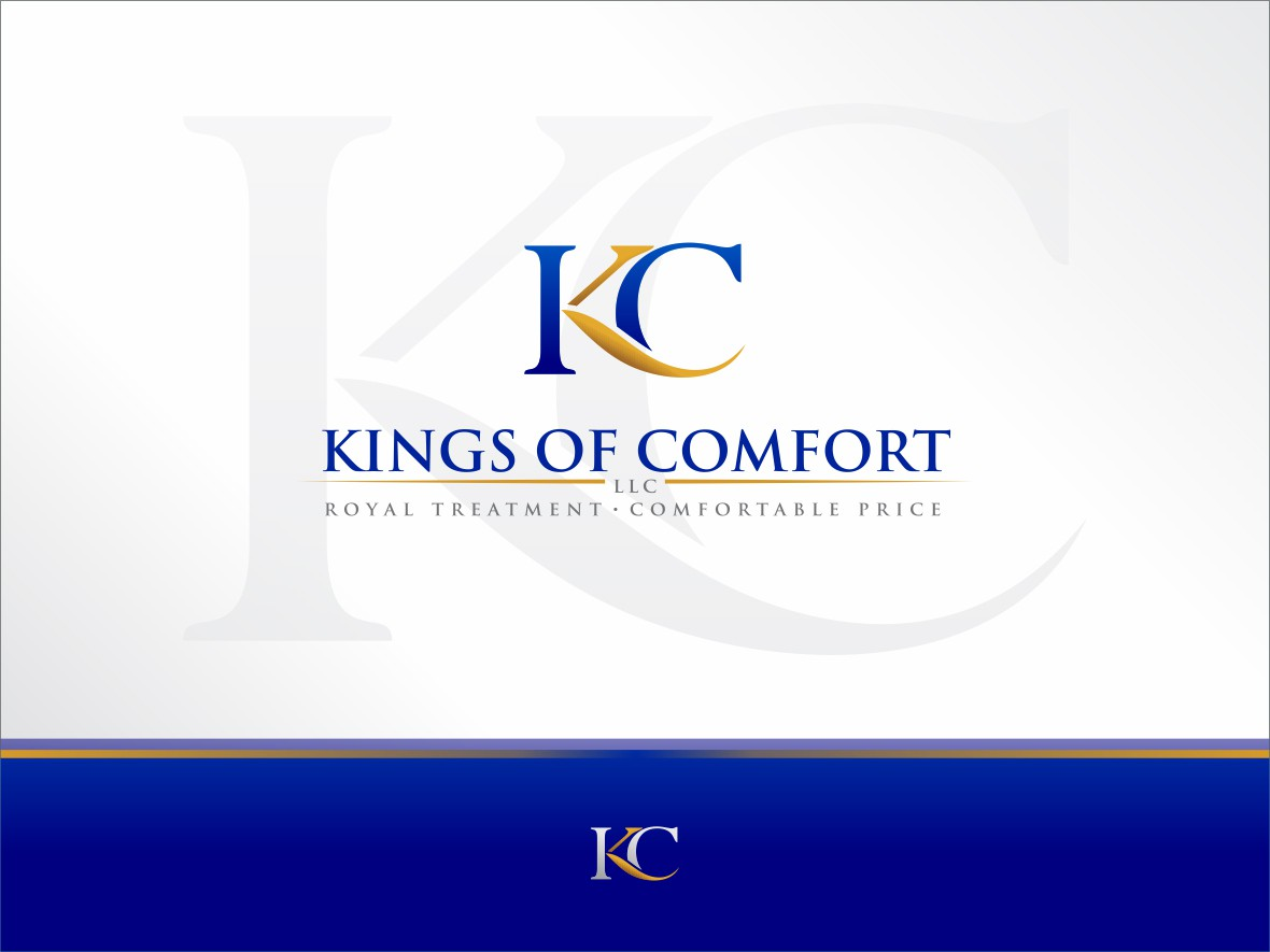 Help Kings of Comfort, LLC. with a new logo