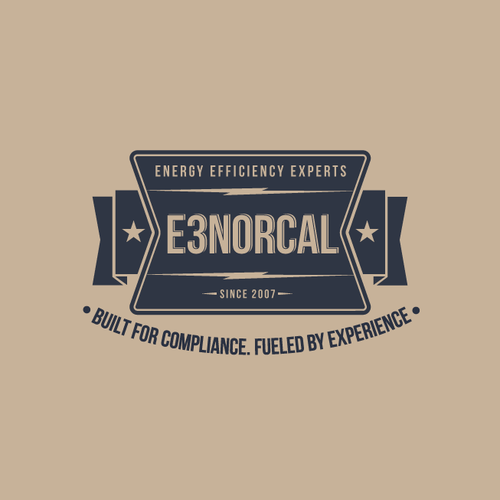 Vintage Logo Wanted for E3 NorCal; a White-Collar Co. with a Blue-Collar Work Ethic