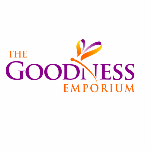create a clean & simple logo for The Goodness Emporium