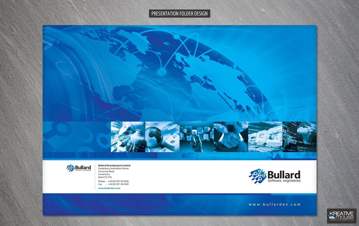New Presentation Folder design wanted for Bullard Development Limited