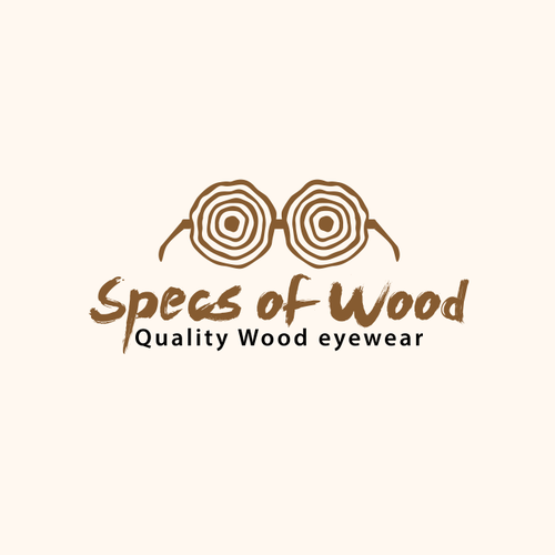 Specs of Wood Logo