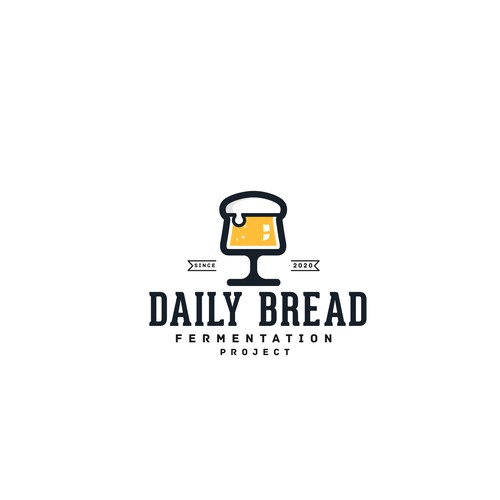 "Logo concept for ""Daily Bread"""