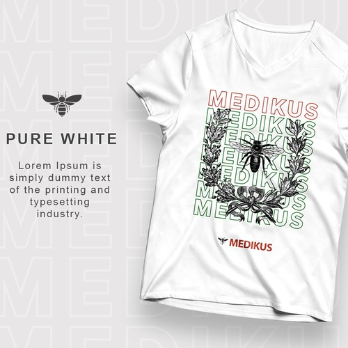 T-shirt design for Medikus